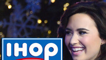 Demi Lovato -- Ain't No Christmas Like an IHOP Christmas