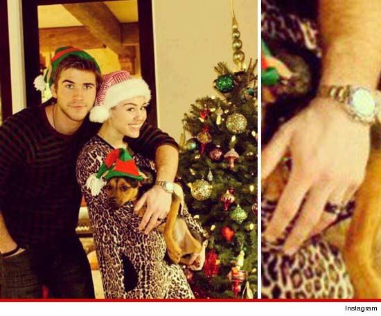 Miley Cyrus & Liam Hemsworth mariés ?