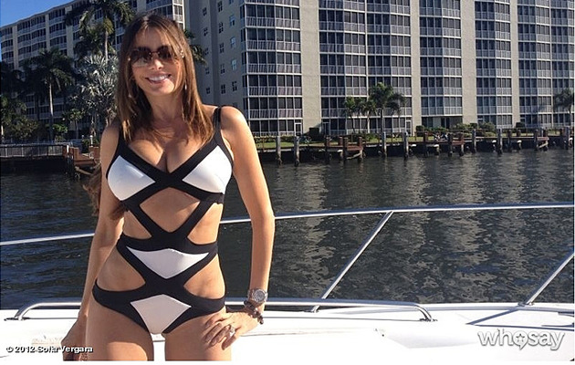 Sofia Vergara Dons Sexy Swimsuit in the Middle of Winter!