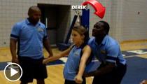 UFC Fighter Derek Brunson -- Don't Mess With Me ... I'll Cheer Your Ass Off! [Video]