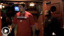 Wisconsin Football Team -- Juking Questions Left and Right