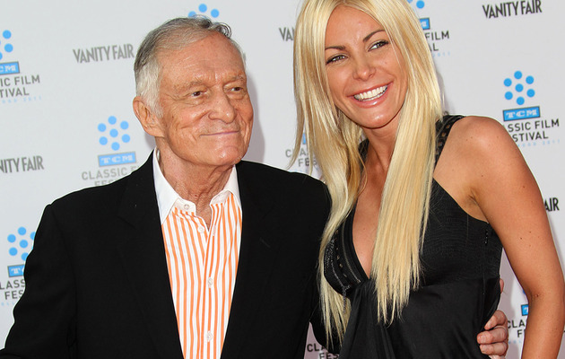 Hugh Hefner Marries Crystal Harris On New Year's Eve