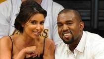 Kanye West and Kim Kardashian -- We Don't Want Any Sex Surprises