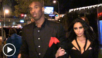 Kobe Bryant -- Comes Out of Hiding for New Year's Eve With Vanessa