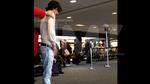'Twilight' Actor Bronson Pelletier -- PEEING in the Airport Terminal!!