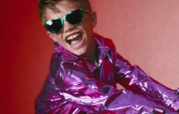 Romeo Beckham Has Some Fun With Burberry!