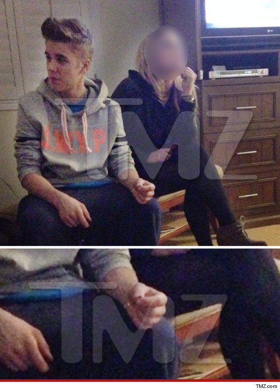 Justin Bieber smoking pot?