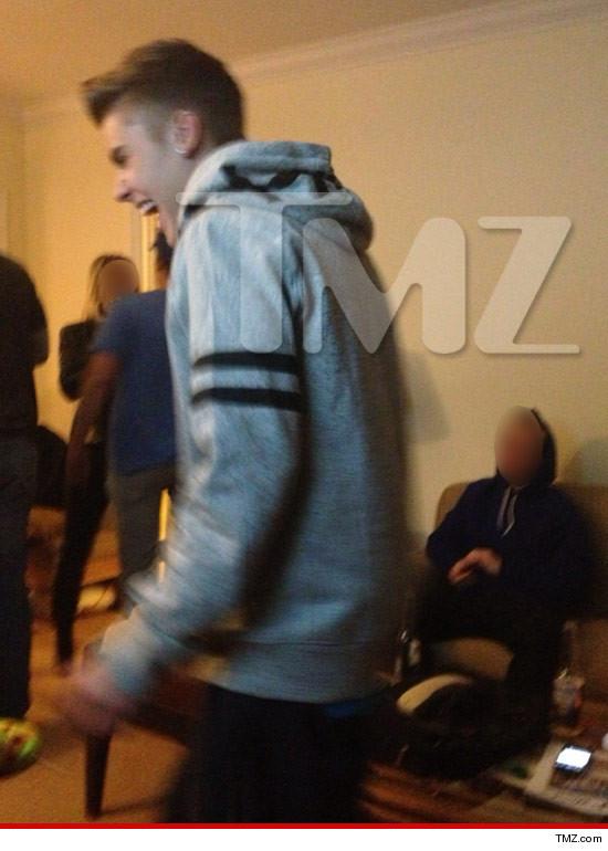 Justin Bieber smoking weed?