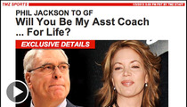 Phil Jackson Engagement -- Technical Foul for 'Sexist' Headline?