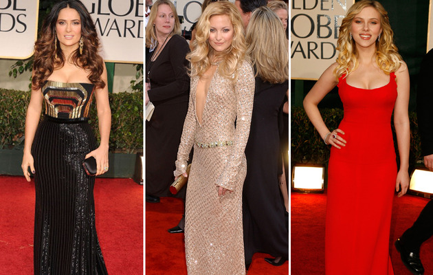 The Best Dressed Stars of Golden Globes' Past!