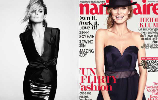"Heidi Klum Talks ""Dress Up"" Sex in Marie Claire"