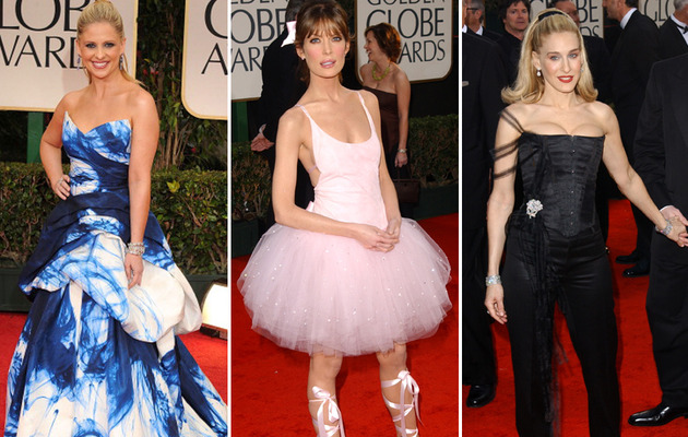 The Worst Dressed Stars of Golden Globes' Past!