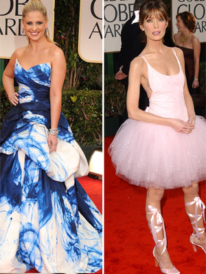 The Worst Dressed Stars of Golden Globes&#039; Past! 