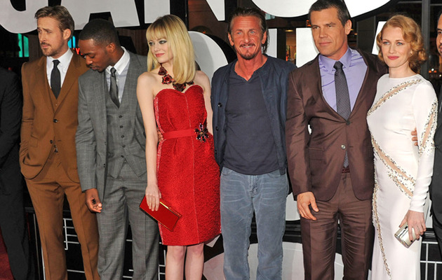 "10 Best & Most Ridiculous Moments at ""Gangster Squad"" Premiere"