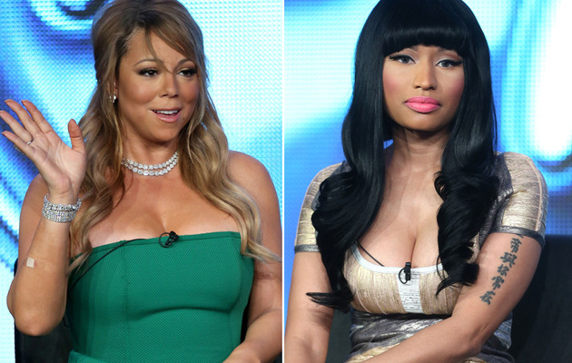 Mariah Carey & Nicki Minaj Feud -- Is It For Real?