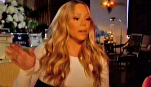"Mariah Carey Disses Nicki Minaj on ""Nightline"""