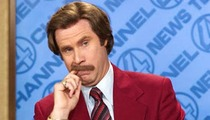 'Anchorman 2' -- Tonight's Top Story ... Burglars Strike Movie Set