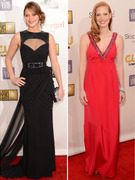 2013 Critics' Choice Awards: Skin Is In!