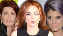 Sharon Osbourne RIPS Lady Gaga -- You're a Hypocritical Attention Whore
