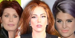 Sharon Osbourne RIPS Lady Gaga -- You&#039;re a Hypocritical Attention Whore