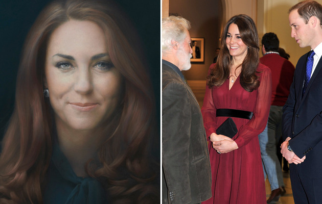 Kate Middleton Portrait Criticized -- Is It Really That Bad?