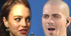 Wanted Singer Max George -- Lindsay Lohan Meets the Parents