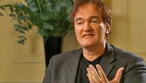 Quentin Tarantino EXPLODES at Reporter -- Don't Ask Me About Movie Violence!!!
