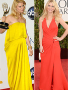 Claire Danes Super Skinny At Golden Globes After Giving Birth!