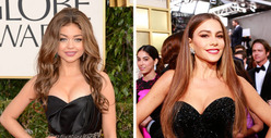 Sofia Vergara & Sarah Hyland -- The TWINS!