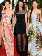 Golden Globe Awards: Best & Worst Dressed