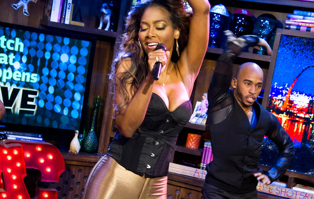 """Real Housewives"" Star Kenya Moore Performs New Single"