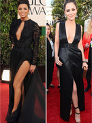 Golden Globe&#039;s Leggy Ladies -- Who Did It Best?
