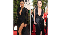 Golden Globe's Leggy Ladies -- Who Did It Best?