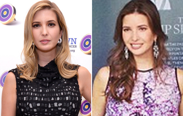 Better Brunette? Ivanka Trump Goes Dark