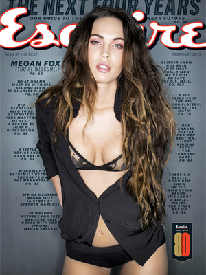 Megan Fox Disses Lindsay Lohan, Talks Leprechauns