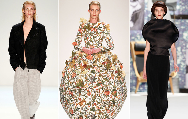 Exclusive: Androgynous Male Model Turns Heads at Fashion Week!