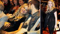 Shakira Shows Off Baby Bump in Barcelona!