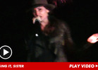 'Showgirls' Star Gina Gershon -- KARAOKE JAM ... On Shots of Everclear