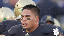 Manti Te'o -- 'No Way Involved in Hoax' ... Says Cancer Victim's Family