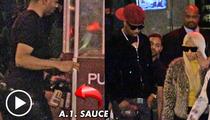 Nicki Minaj at Steakhouse -- Bring Me Some A.1. Sauce, STAT!!!
