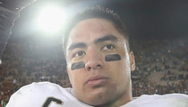 Manti Te'o Scandal -- Notre Dame Tells Staff KEEP YOUR MOUTHS SHUT