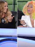 "Nicki Minaj Calls Mariah Carey a ""Bitch,"" Two Fight Over ""Mean Girls"""