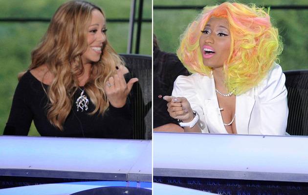 "Nicki Minaj Calls Mariah Carey a ""Bitch,"" Two Fight Over ""Mean Girls"""