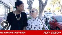 Wiz Khalifa & Amber Rose -- We're NOT Married ... Yet