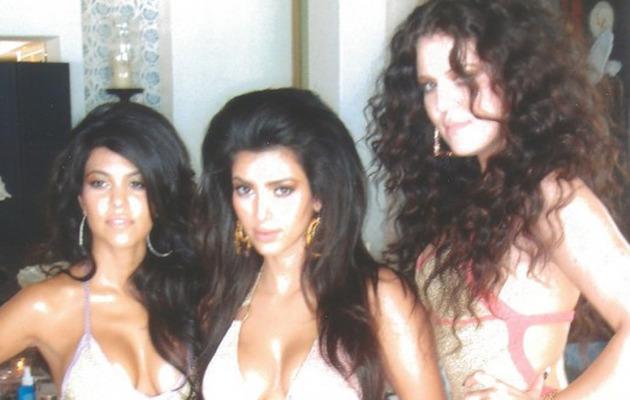 Flashback Friday: Kardashians Sport Scary Big Hair