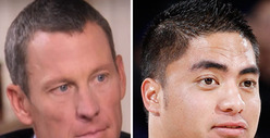 Lance Armstrong vs. Manti Te'o: Who'd You Rather?