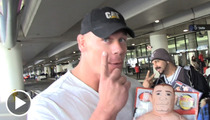 John Cena -- My 'Brawlin Buddy' Has a Jacked Up Face
