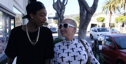 Wiz Khalifa &amp; Amber Rose -- We&#039;re NOT Married ... Yet