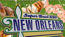 Super Bowl XLVII Menu -- Definitely Not Skimping on the Shrimp
