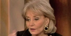 Barbara Walters -- Hospitalized After Fall